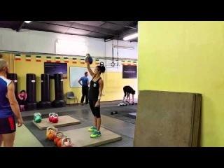 Olivia snatch 12kg 10min 131reps.bwc 58kg