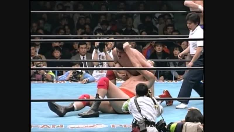 1995.03.04 - Jun Akiyama/Giant Baba/Jumbo Tsuruta vs. Akira Taue/Masanobu Fuchi/Masao Inoue
