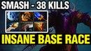 INSANE BASE RACE Smash Plays Riki WITH 38 KILLS Dota 2