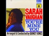 Sarah Vaughan one mint julip 1962
