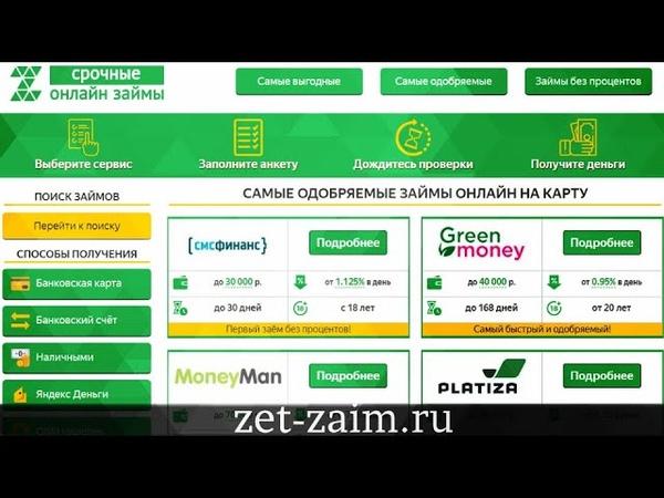 Займы без проверки кредитной истории | Zet-Zaim.Ru