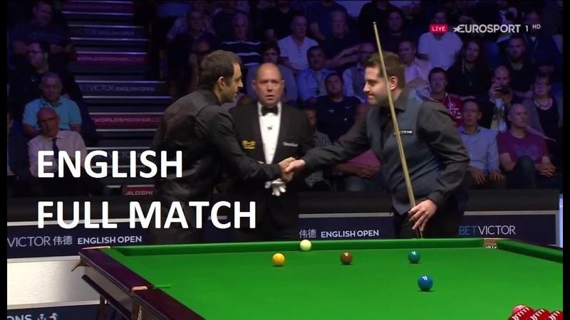 Ronnie O'Sullivan vs Eden Sharav - (full match) English Open Snooker 2018 (R4)