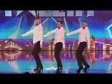 Yanis Marshall, Arnaud and Mehdi High Heels Spice Girls Britain's Got Talent 2014