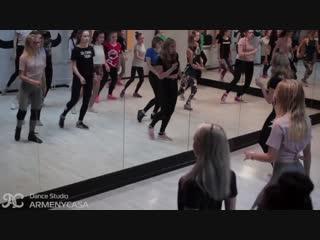 Оля Иванова - JAZZ-FUNK Зеленоград, Школа танцев Armenycasa