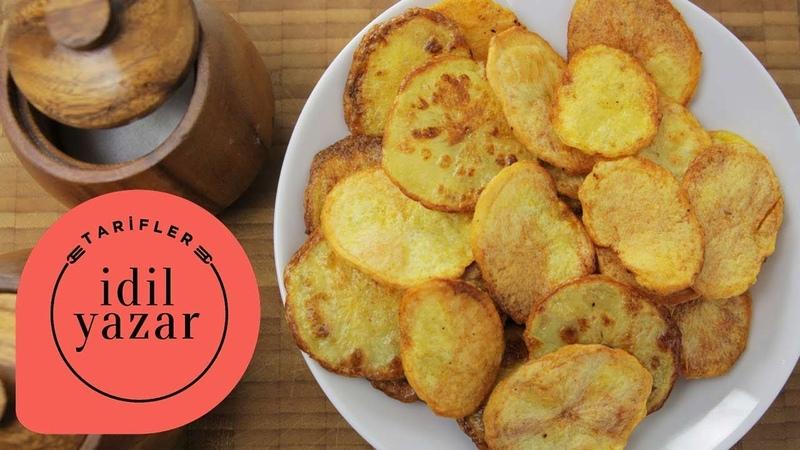 Fırında Patates Cipsi Nasıl Yapılır - İdil Yazar - Yemek Tarifleri - Potato Chips