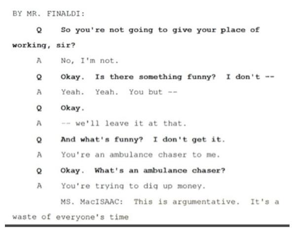 Показания Йоши Уейли, сына Джоли Левин (секретарь MJ)., изображение №2