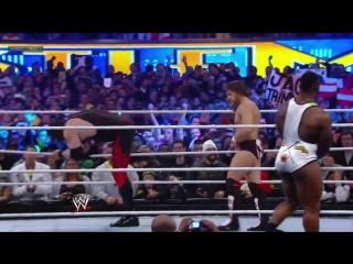 Кейн и Брайан пр. Зигглер и Биг И WrestleMania 29. 2013