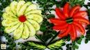 Amazing Cucumber Tomato Art Decoration with Maringa Designs!