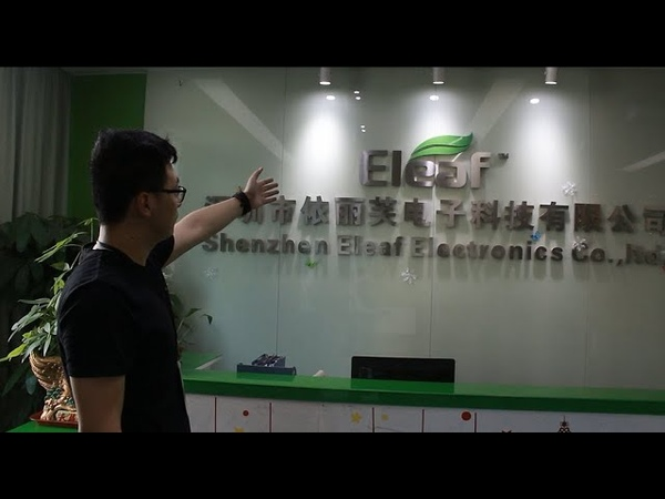 Eleaf Factory Tour with Vapesourcing