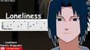 Naruto Shippuden OST - Loneliness (Kodoku) Guitar Tutorial