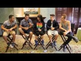 BIG TME RUSH Interview with Pavlina 2013 Universal Studios, Orlando, FL
