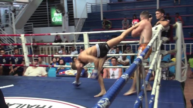 Spinning Heel Kick TKO Çağan Atakan Arslan (Tiger Muay Thai) vs Martin (Sumalee Boxing Gym)