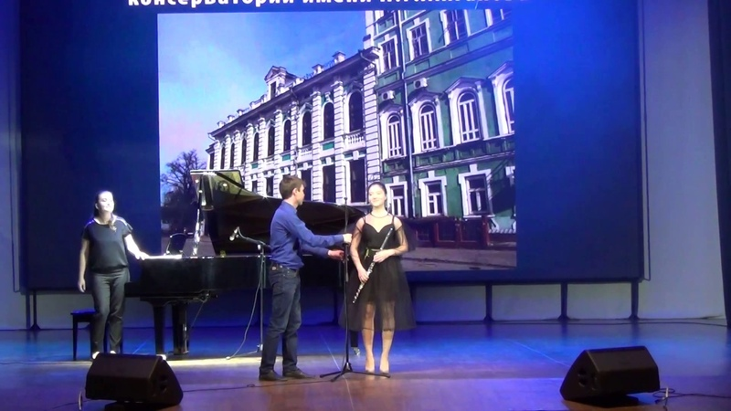 Диана Ким (Флейта, 16 лет) Ж. Массне