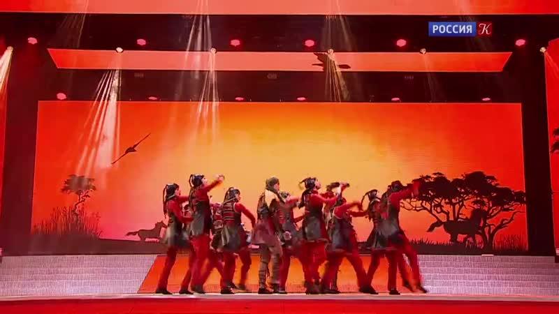 ТХМ Стиль Зов степей ГЦКЗ Россия , Москва IV фестиваль детского танца Светлана