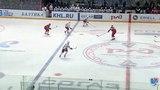 Моменты из матчей КХЛ сезона 1415 Гол. (02). Голышев Анатолий (Автомобилист) забросил шайбу и увеличил отрыв от соперников.