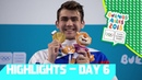 Medal Decisions in Swimming Badminton and Artistic Gymnastics YOG 2018 Day 6 Top Moments
