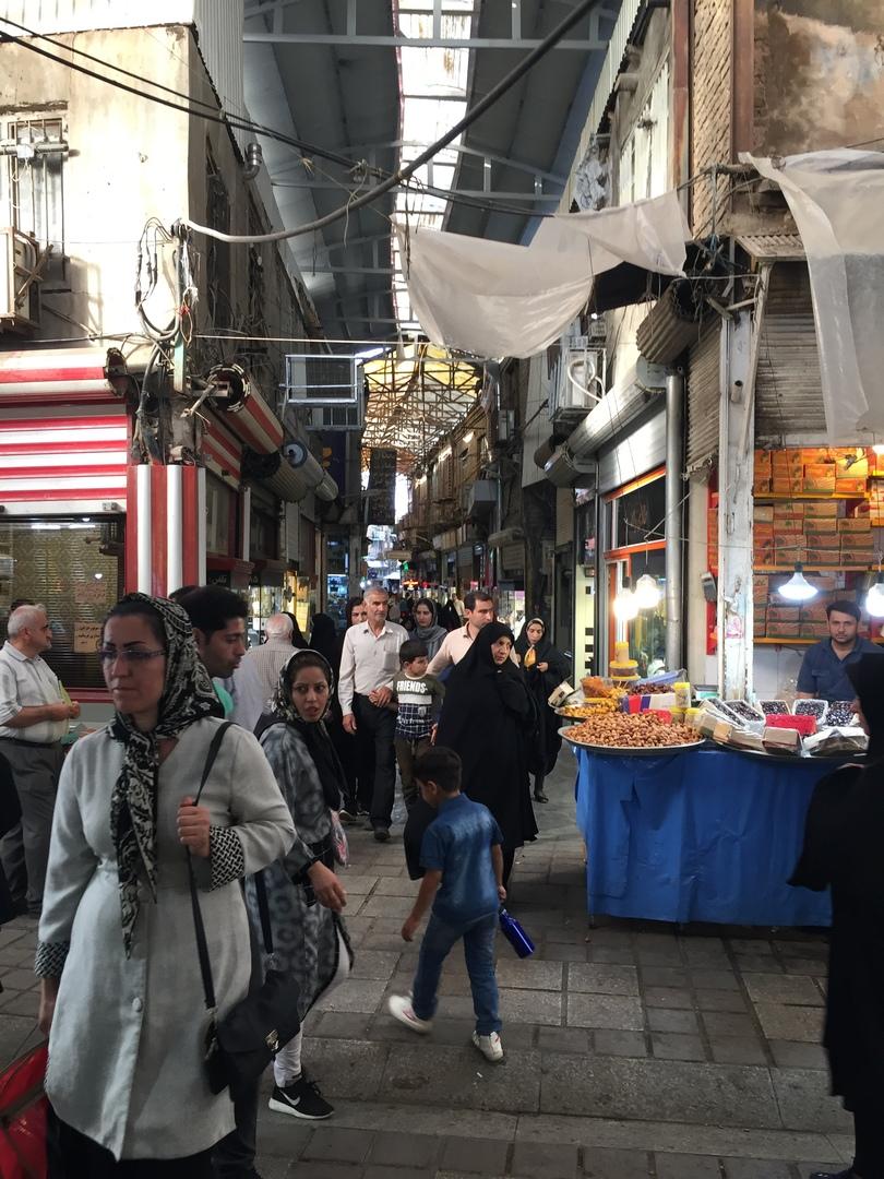 Иран 4. Рынок Хамедана 3