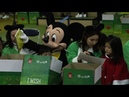 Mickey Mouse wraps presents for S. Korea's children in need