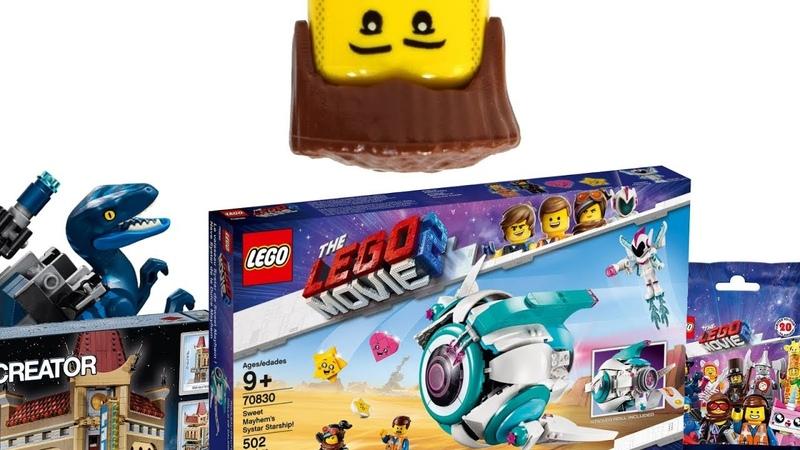 Эфир 10 Обзор набора The Lego Movie 2 70830 Звездолёт Мими Катавасии Sweet Mayhem's Starship