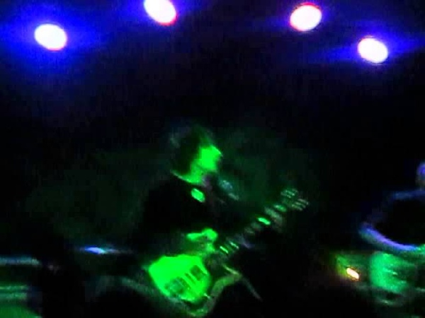 Frank Iero live in Tallahassee Florida at Pugs 3 26 15