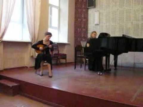 Дворжак Словянский танец №2 flv