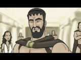 Прикол из 300 спартанцев
