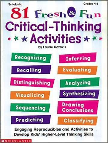fun critical thinking activities for college students Is truthiness enough classroom activities in critical thinking students learn that there might be and may start to think that critical thinking can be fun.