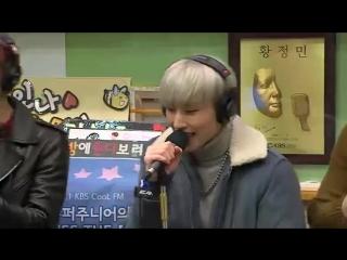 [RADIO] 151126  B.A.P - Young, Wild & Free @  Super Junior Kiss the Radio