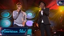 Dominique Aloe Blacc Sing Wake Me Up Top 24 Duets American Idol 2018 on ABC