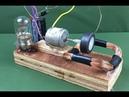 100% Free energy self running machine generator using dc motor 2018 Science New experiment