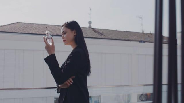 Kristina Bazan for Amo Ferragamo Fragrance Campaign