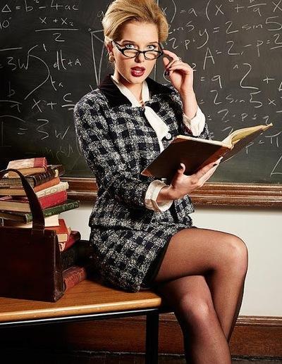 у учительницы под фото