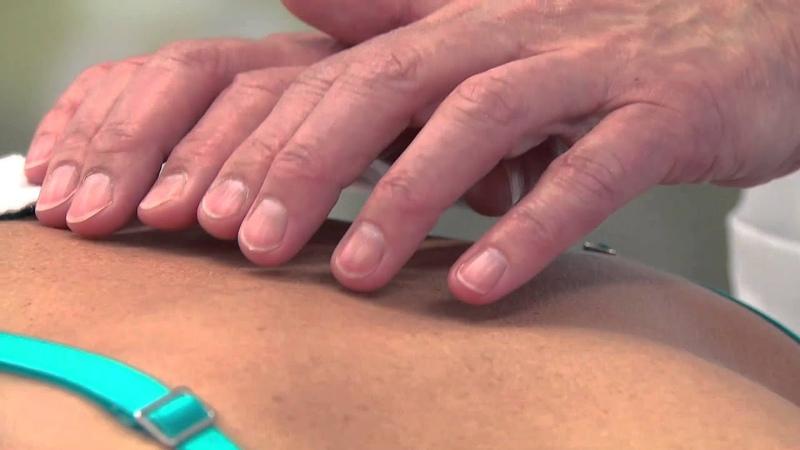Manuele Lymfedrainage - MLD-technieken voor de rug, nek en schouders.