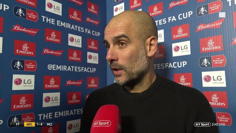 Guardiola Today reminds me why English football is so tough | Newport vs Man City