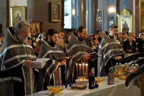 О Таинстве Соборования  Воскресенский собор