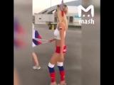 Болельщица сборной России Наталья Андреева😏⚽️🇷🇺[MDK DAGESTAN]