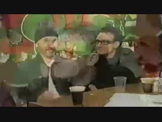 Bono & The Edge(U2) The Ground Beneath Her Feet (Live St. Patrick's Day, Dublin 2000) TFI