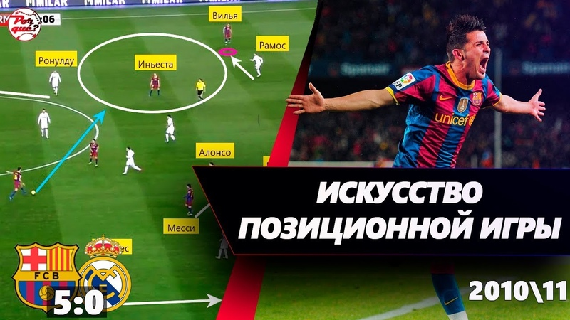 Тактический разбор Барселоны Гвардиолы • Барселона 50 Реал