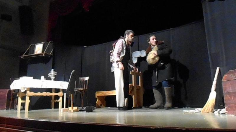 Спектакль «Сон Мартына Авдеича» Театр С миру по нитке 21.10.17