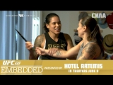 UFC 224 Embedded  Vlog Series - Episode 1