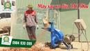 [Khomay vn] MÁY XAY XƠ DỪA 3A || Máy băm nghiền xơ dừa giá rẻ