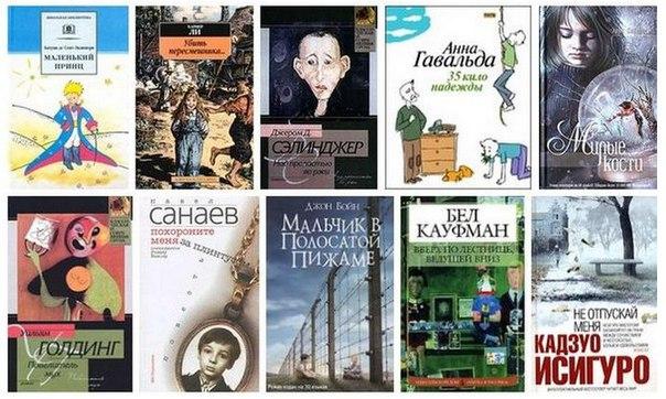 10 лучших книг, в которых главные герои - дети.