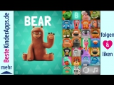 Песенка про Алфавит / НА АНГЛИЙСКОМ ЯЗЫКЕ / Talking ABC - Best Alphabet Song App for Kids (English)