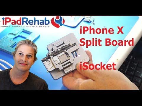 IPhone X Split Board Troubleshooting with iSocket