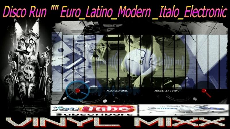Euro Italo Disco VINYL 1 megaMixes