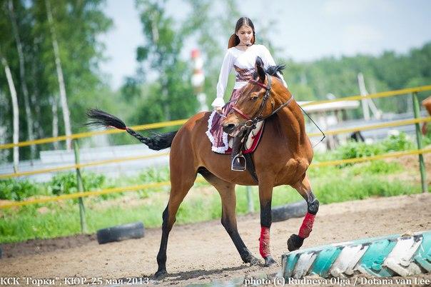 Костюмированная манежная езда