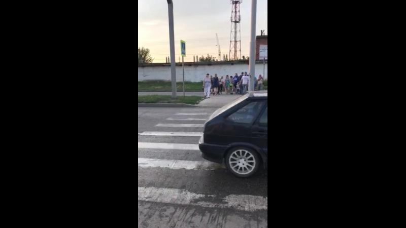 акция протеста обманутых дольщиков ЖК Форт Карасун