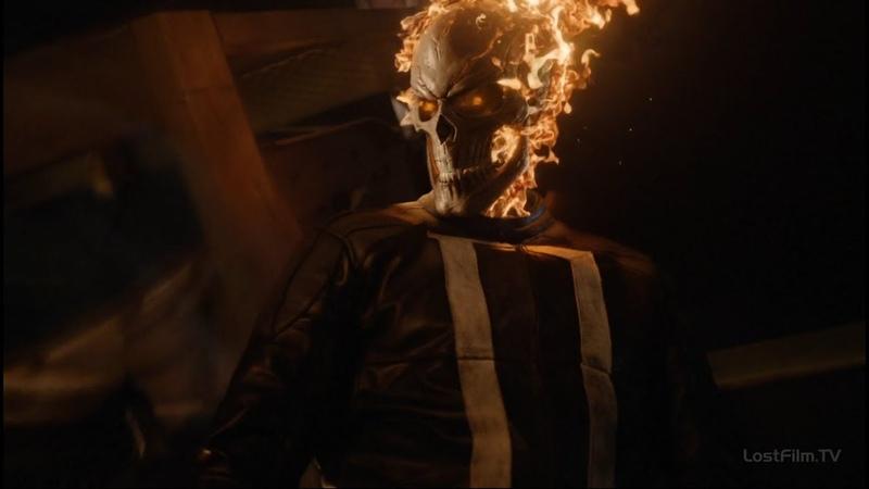 Дрожь против Призрачного Гонщика | Агенты Щ.И.Т. (4 сезон 1 серия)
