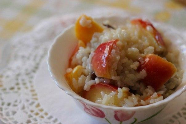 «Яблоки с рисом»