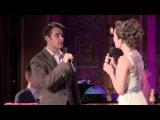 Laura Osnes and Corey Cott -